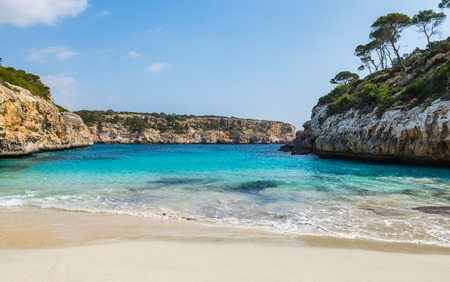 Calo des Moro - Strand, Mallorca Stock Photo
