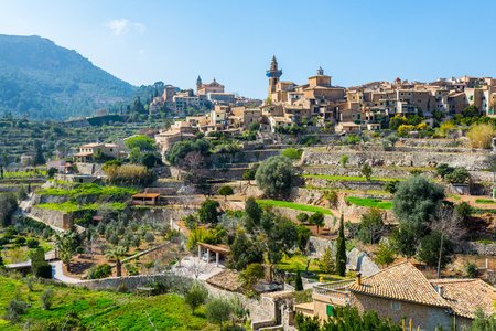 Valldemossa village in majorca (spain)