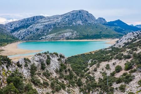 mallorca: Gorg Blau Lake, Majorca Stock Photo