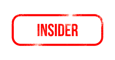 insider - red grunge rubber, stamp 스톡 콘텐츠 - 102310931
