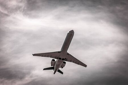 Airplane, Aircraft bottom, flying, take-off, landing, frankfurt