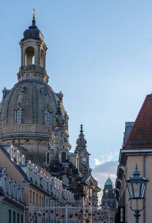The Frauenkirche, Dresden (germany) Standard-Bild - 131658351