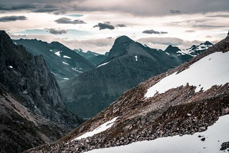 A mountain landscape, norway