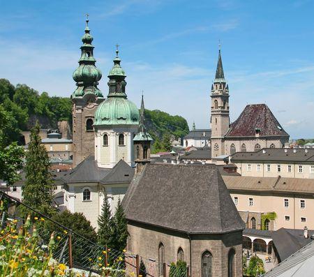 salzburg: A view to salzburg