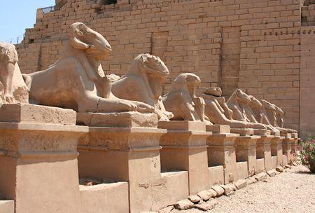 louxor: Une photographie d'un ancien lieu historique en Egypte Louxor