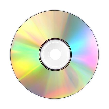 A photography of a isolated cd rom photo