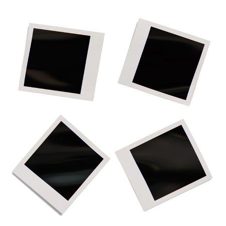 An illustration of a blank photograph illustration