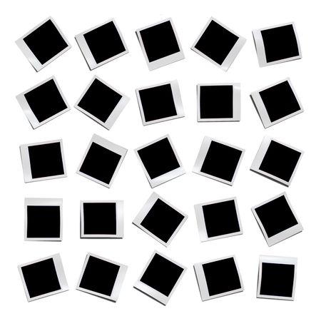 An illustration of a blank photo photograph illustration