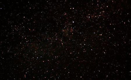 melkachtig: Een foto van de Melkweg Sterren Stockfoto
