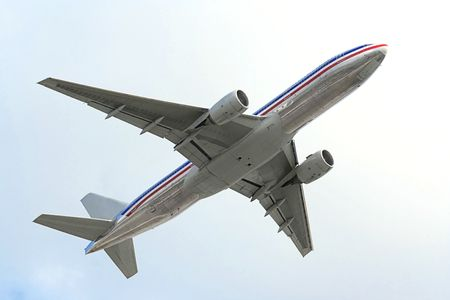A photography of a jet air plane Stock Photo - 3531528