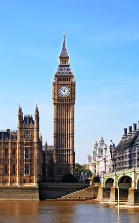 A photography of the attraction Big Ben Stock Photo