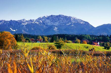 photo of a autumn german landscape Stock Photo - 3675124