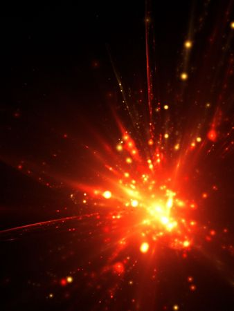 explotion: An illustration of an abstract explotion background