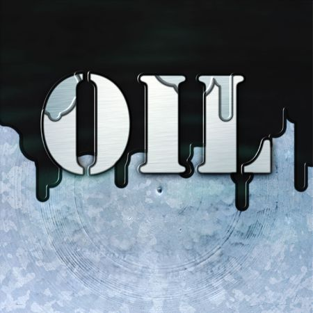 An illustration of a the letters OIL