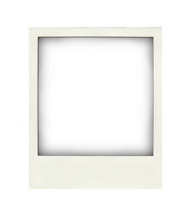 This is a blank Photograph image isolated on white background Stock fotó