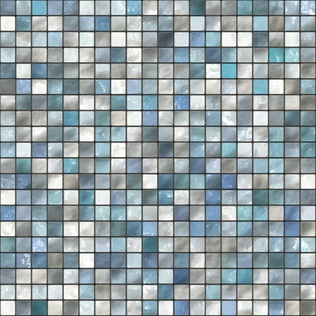 grout: An illustration of decorativ seamless bath tiles
