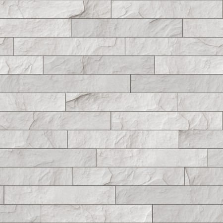 An illustration of a seamless white brick wall