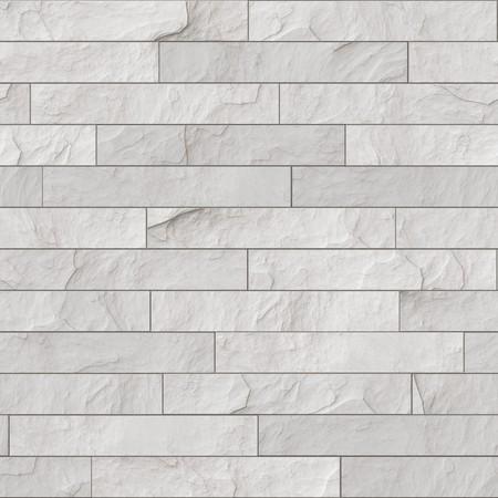 Un ejemplo de una pared de ladrillo blanco sin Foto de archivo