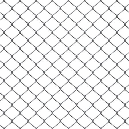 An illustration of a rusty chain link Stock Illustration - 4584784