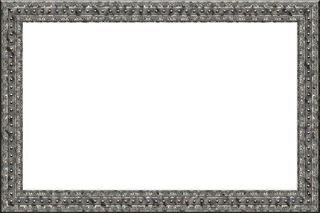 An illustration of a square metal frame illustration