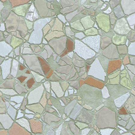An illustration of a seamless tiles texture illustration