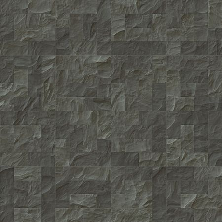 An illustration of a grey stone wall texture