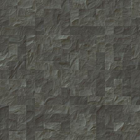 bathroom tiles: L'illustrazione di un tessuto grigio muro di pietra