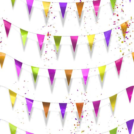 An illustration of a colorful celebration background Stock Illustration - 4724032