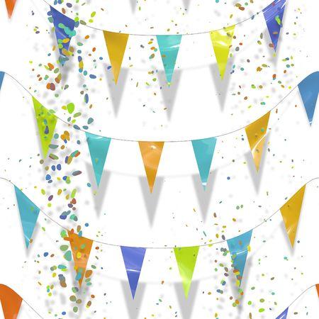 An illustration of a colorful celebration background Stock Illustration - 4724018