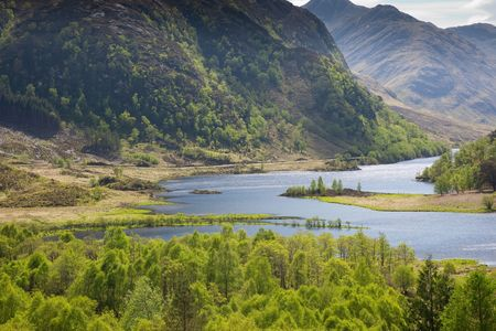 highlands: A photography of a great scottish landscape