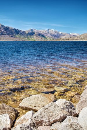 A photography of a typical scottish lake Stock Photo - 4968094