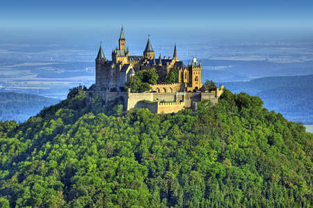 castle Hohenzollern in Germany photo