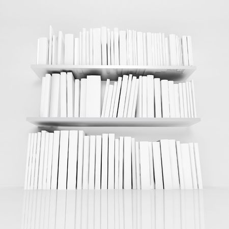 white books Stock Photo - 5396438