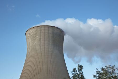 A photography of a big cooling tower Stock Photo - 5512778