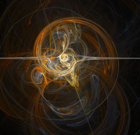 radius: A illustration of an abstract motion background Stock Photo