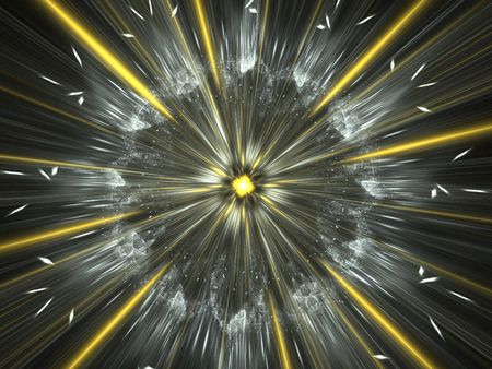 spacetime: An illustration of a nice abstract zoom Stock Photo