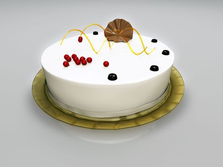 torte: An illustration of a delicious cake