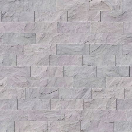 wall tiles: An illustration of a seamless grey stone wall Stock Photo