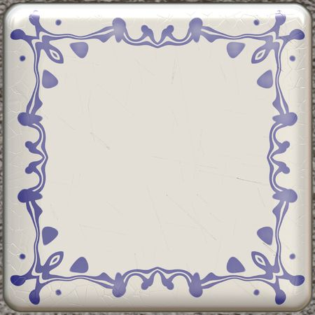 An illustration of a nice Delft texture Stock Illustration - 5851209