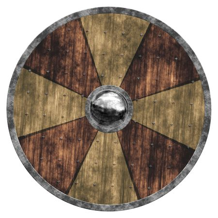 An illustration of a nice old shield illustration