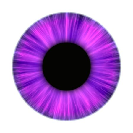 dilated pupils: An illustration of a nice purple iris texture Stock Photo
