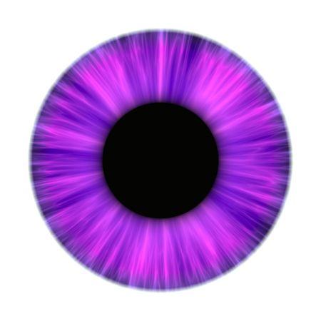 Una ilustración de una textura agradable iris morado