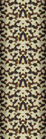 An illustration of a samless snake skin texture illustration