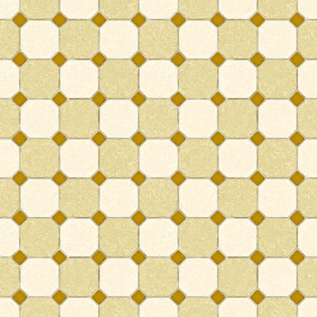 An illustration of a nice seamless old tiles texture Stock Illustration - 5851298