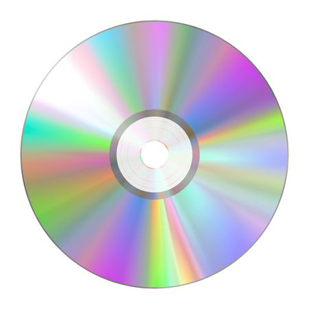 An illustration of a nice cd rom texture illustration