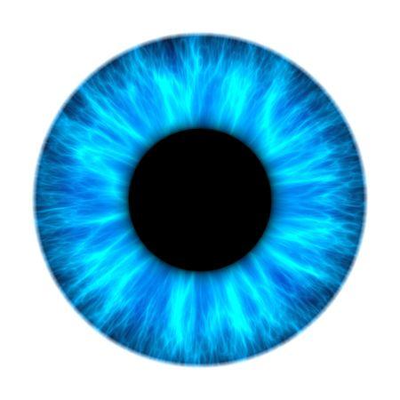 Una ilustración de una textura agradable iris azul