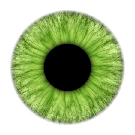 Una ilustración de una textura agradable iris verde  Foto de archivo
