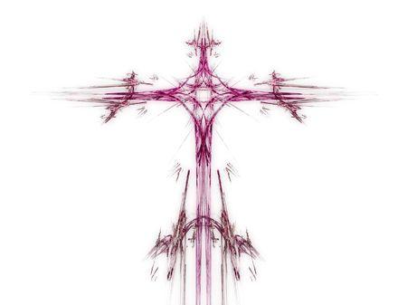 An illustration of a nice fractal cross illustration