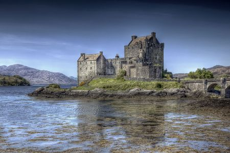 Eilean Donan Castle in Scotland photo