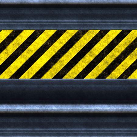 An illustration of a nice hazard wall Stock Illustration - 6069335